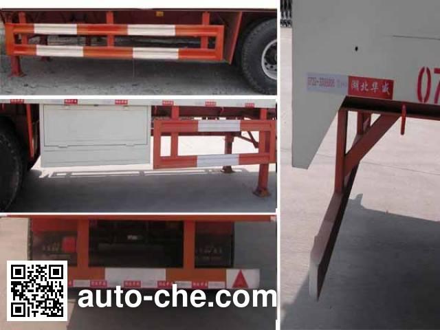 华威驰乐牌SGZ9402XXYA厢式运输半挂车