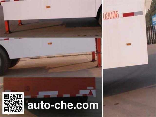 华威驰乐牌SGZ9403XXYA厢式运输半挂车