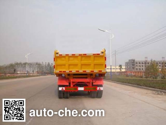 华威驰乐牌SGZ9403ZZX自卸半挂车