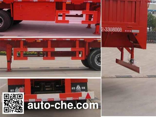 Sinotruk Huawin SGZ9404CXY stake trailer