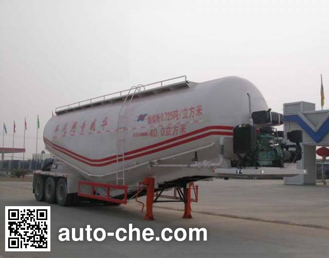 Sinotruk Huawin SGZ9405GFL1 bulk powder trailer