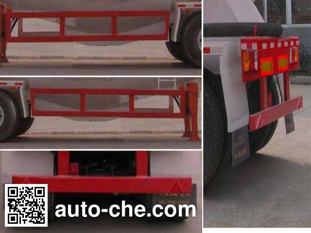 华威驰乐牌SGZ9406GFL低密度粉粒物料运输半挂车