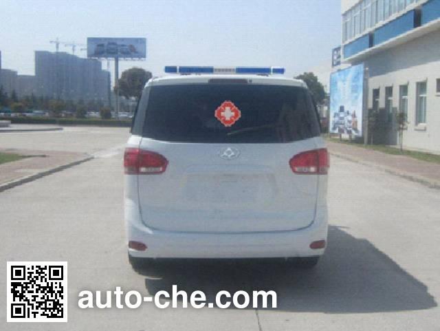 大通牌SH5031XJHC1-A救护车
