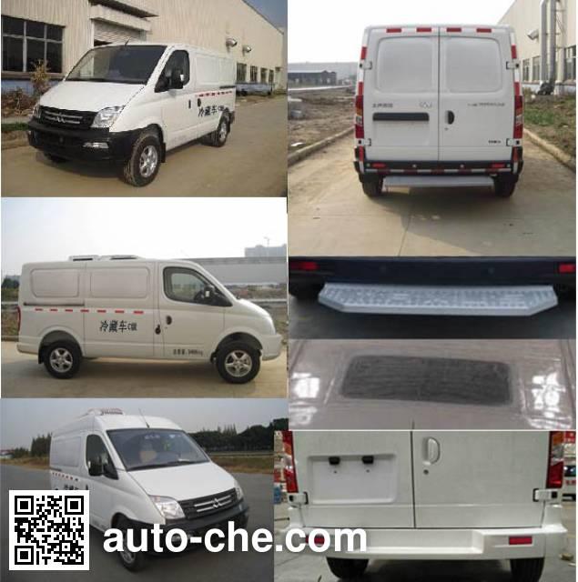 SAIC Datong Maxus SH5040XLCA9D5 refrigerated truck