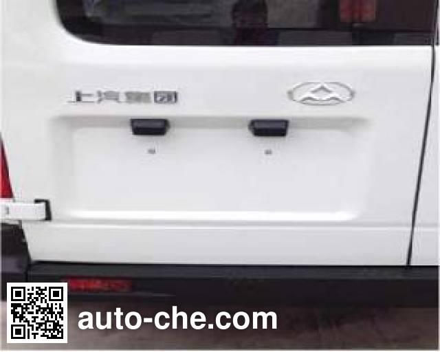 大通牌SH5040XXYA6D4-L厢式运输车