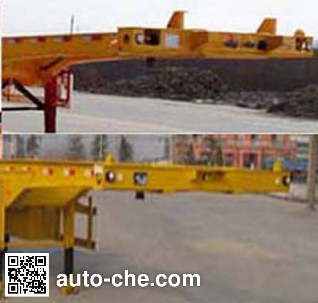 Honghe Beidou SHB9370TJZ container transport trailer