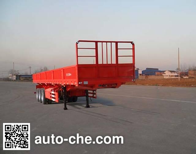 红荷北斗牌SHB9380Z自卸半挂车