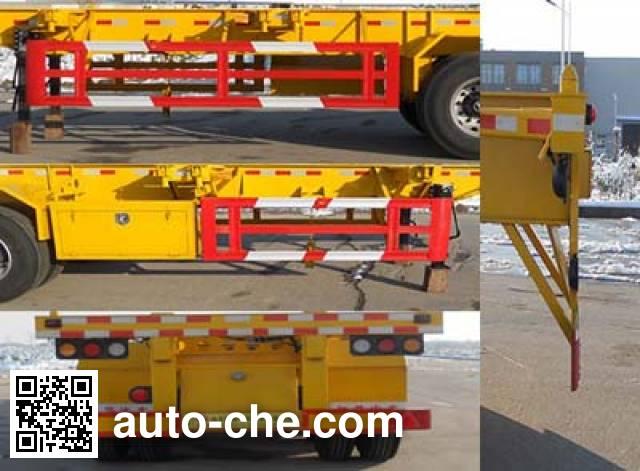 Honghe Beidou SHB9400TJZ container transport trailer