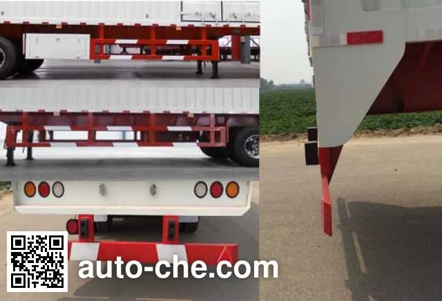 Honghe Beidou SHB9400XXY box body van trailer
