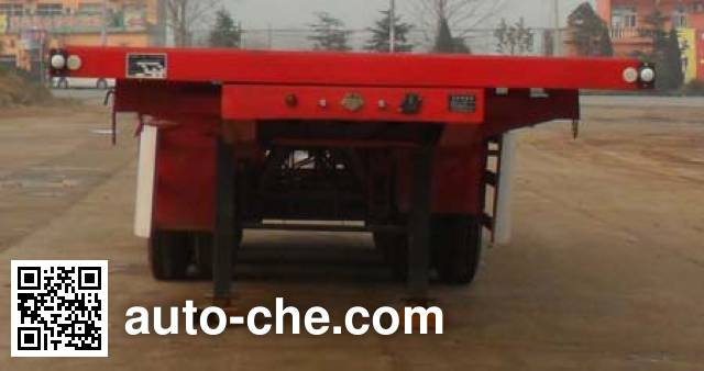 Honghe Beidou SHB9380ZZXP flatbed dump trailer