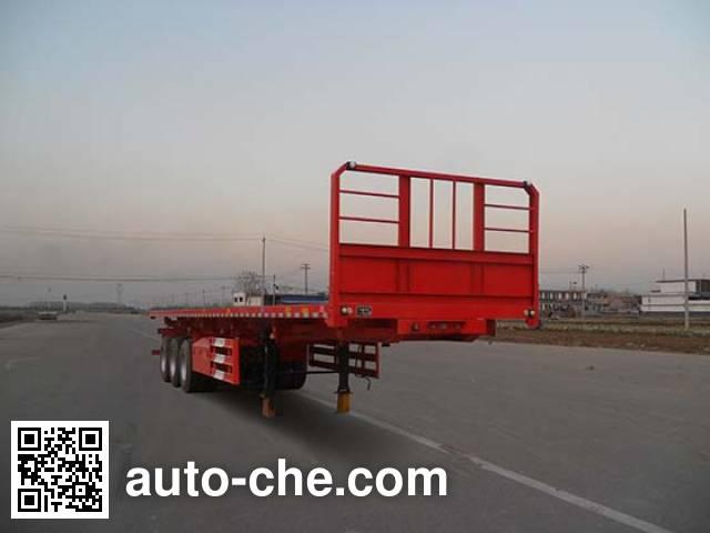Honghe Beidou SHB9400ZZXP flatbed dump trailer
