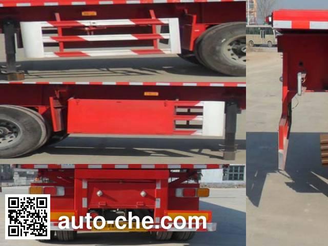 Honghe Beidou SHB9401ZZXP flatbed dump trailer