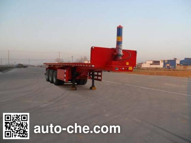 Honghe Beidou SHB9403ZZXP flatbed dump trailer