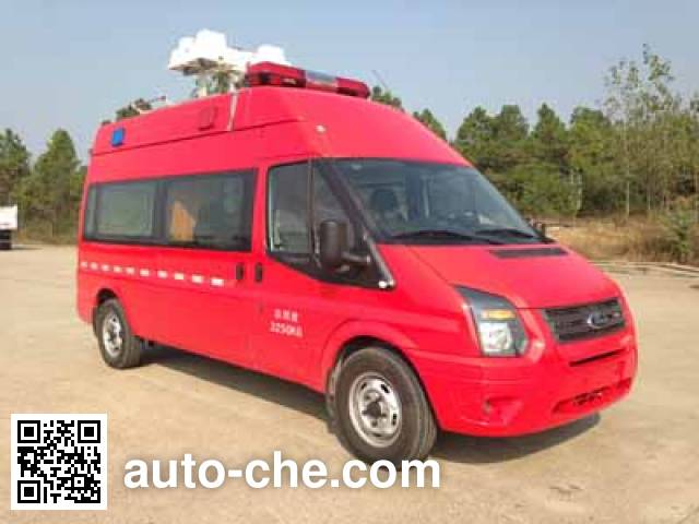 Saiwo SHF5030XXFTZ60 штабной пожарный автомобиль связи