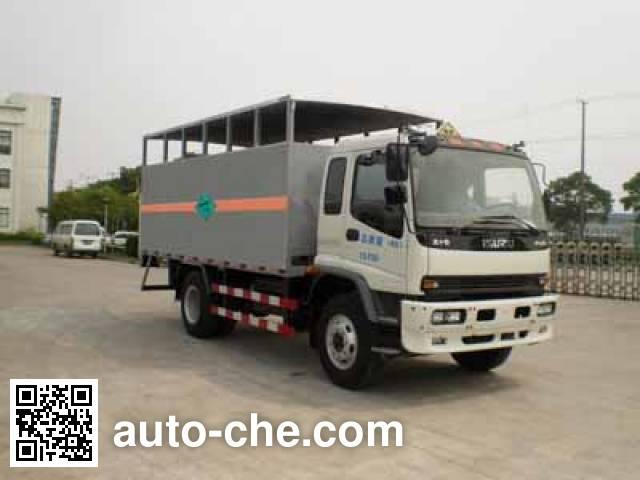 Saiwo SHF5160XQP грузовой автомобиль для перевозки газовых баллонов (баллоновоз)