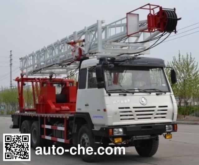 Shengli Highland SHL5200TXJ well-workover rig truck