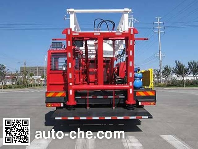 Shengli Highland SHL5320TXJ well-workover rig truck