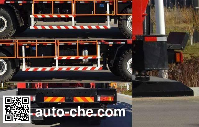 Shengli Highland SHL5330TXJ well-workover rig truck