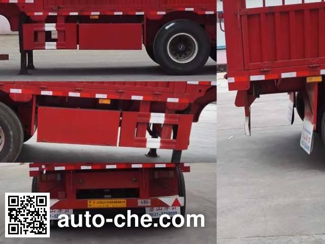 Liangsheng SHS9402CCYE stake trailer