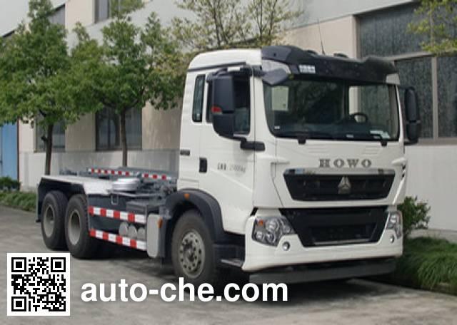 Shanghuan SHW5254ZXX detachable body garbage truck