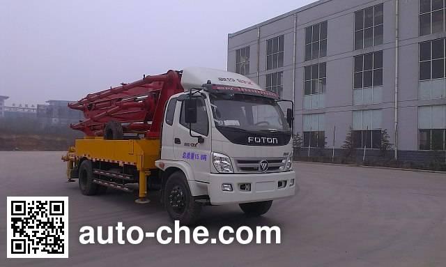 Shiyue SHY5161THB25X-4M concrete pump truck