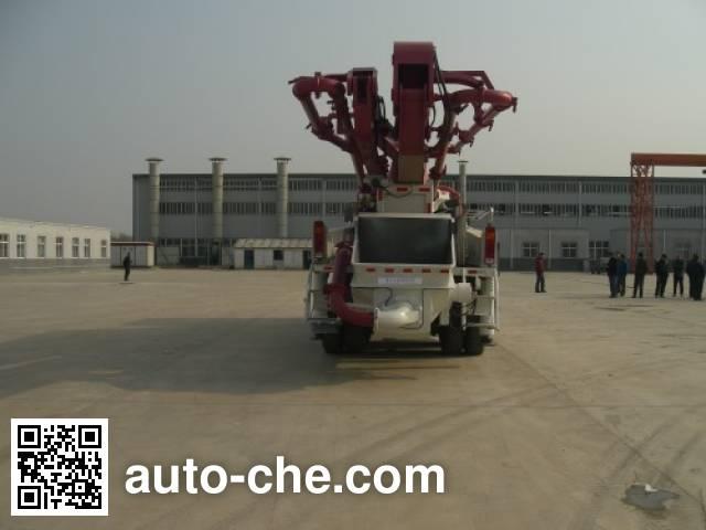 时越牌SHY5301THB混凝土泵车