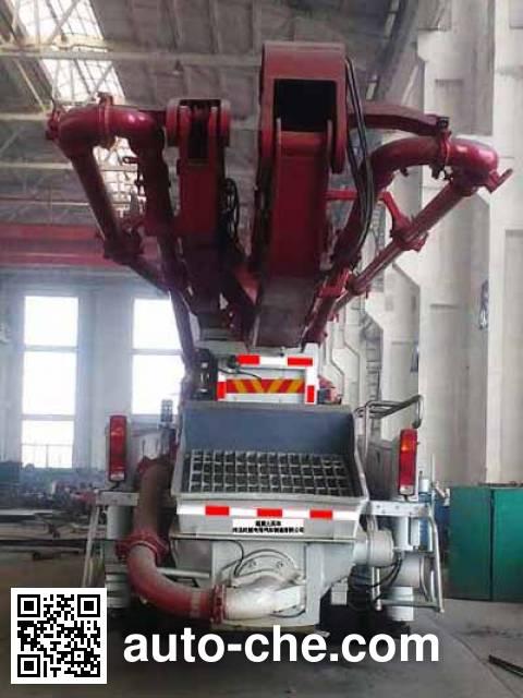 Shiyue SHY5301THB concrete pump truck