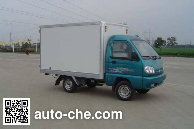 Jiabao SJB5010XXY box van truck