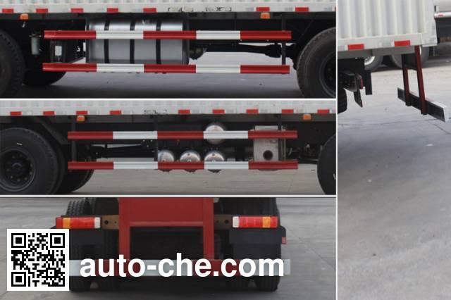 Jiabao SJB5310XXY box van truck