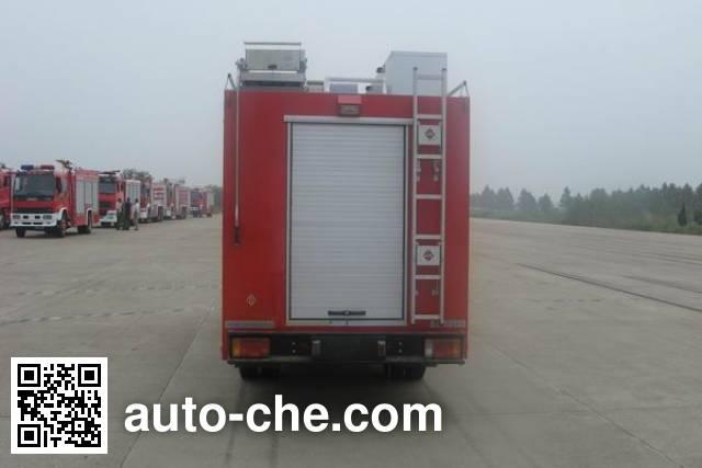 捷达消防牌SJD5050TXFJY73Y抢险救援消防车