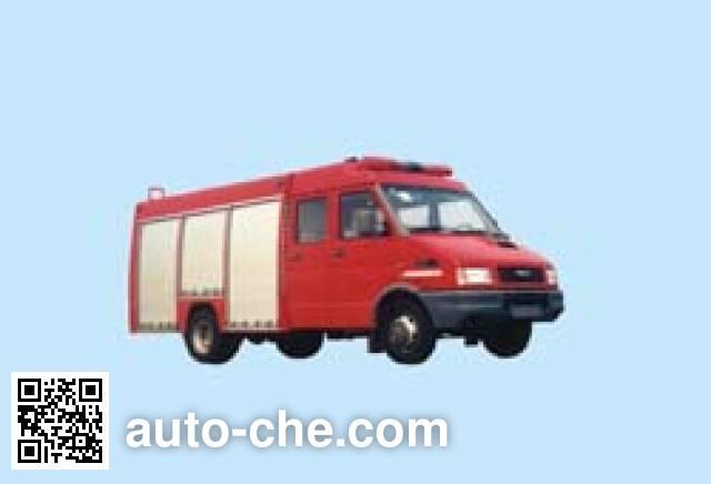 苏捷牌SJD5050TXFPY73排烟消防车