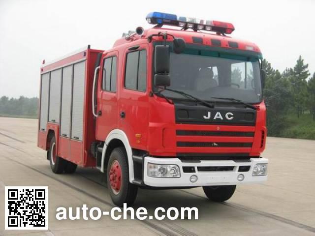 捷达消防牌SJD5100TXFJY100H抢险救援消防车