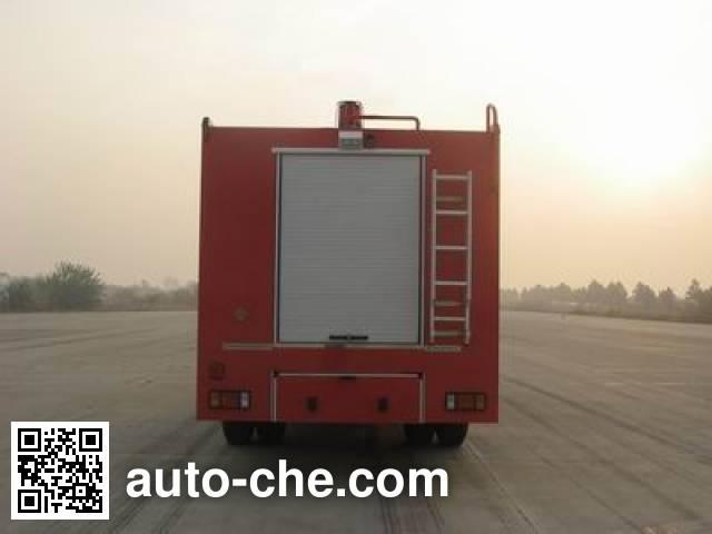 捷达消防牌SJD5110TXFJY100W抢险救援消防车