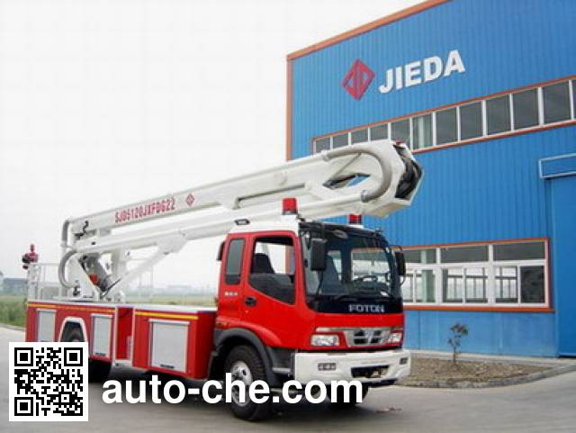 Sujie SJD5120JXFDG22 aerial platform fire truck