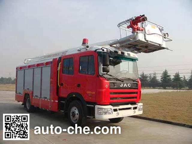 Jieda Fire Protection SJD5160JXFDG16 aerial platform fire truck