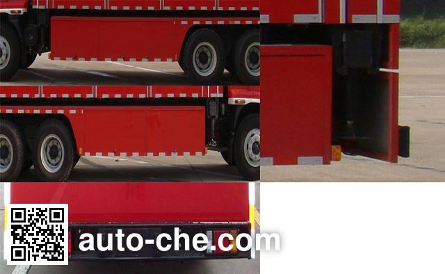 Jieda Fire Protection SJD5180TXFZX100W1/2 hydraulic hooklift hoist fire truck
