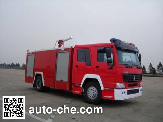 苏捷牌SJD5190GXFPM80L泡沫消防车