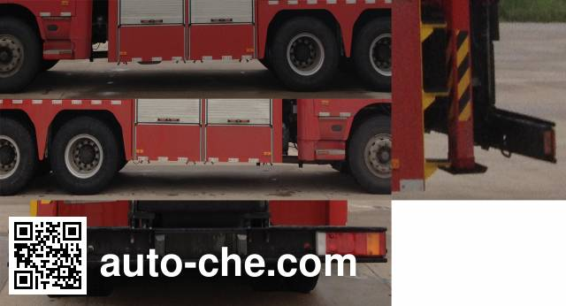 捷达消防牌SJD5190TXFJY75/U抢险救援消防车