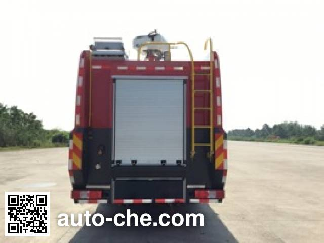 Jieda Fire Protection SJD5320GXFSG160/RCA fire tank truck