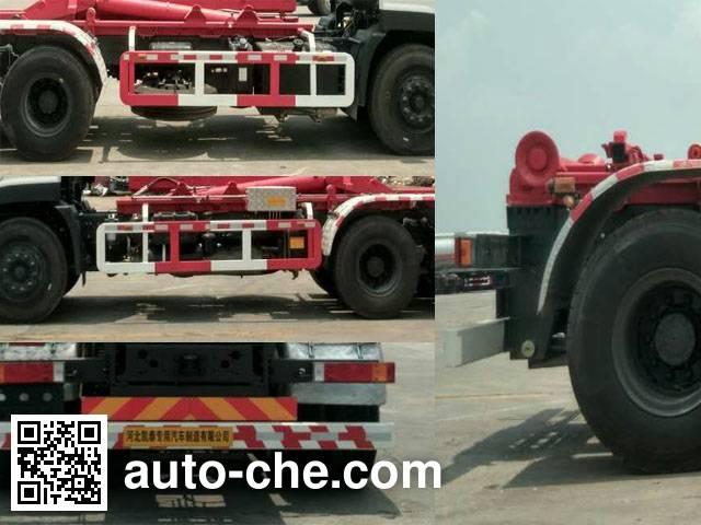 Dahenghui SJQ5250ZXX detachable body garbage truck