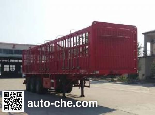 Henglian SJS9371CCY stake trailer