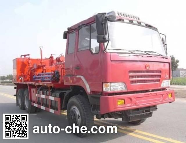 Sinopec SJ Petro SJX5170TJC12 well flushing truck
