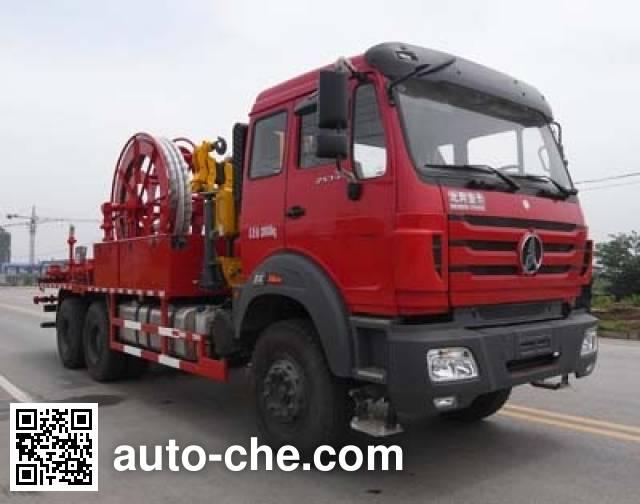 Sinopec SJ Petro SJX5200TGH cementing manifold truck