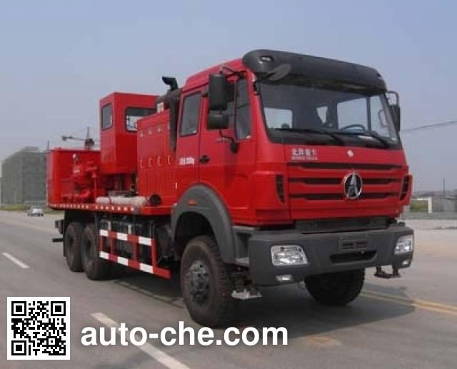 Sinopec SJ Petro SJX5205TYL70 fracturing truck