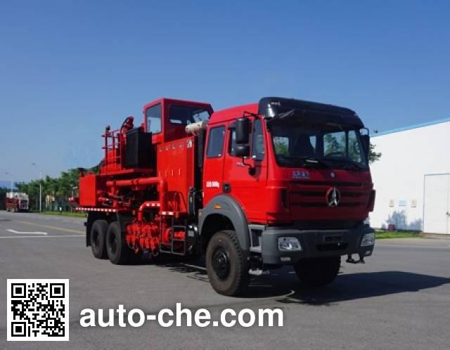 Sinopec SJ Petro SJX5241THS sand blender truck