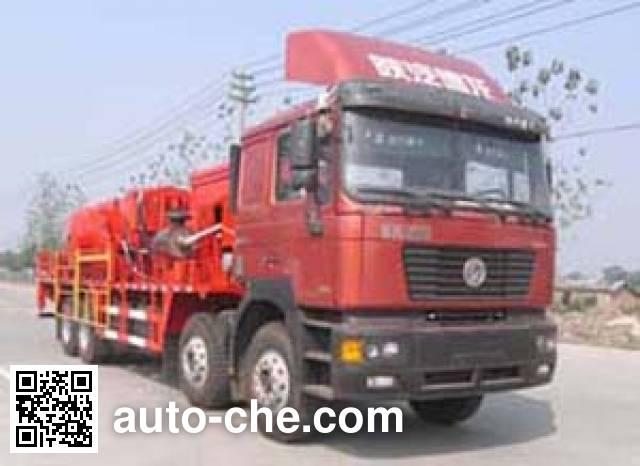 Sinopec SJ Petro SJX5270TTJ well service truck