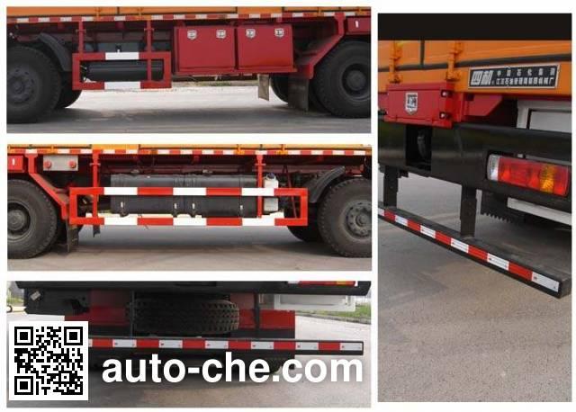 Sinopec SJ Petro SJX5310TYD liquid nitrogen operations truck