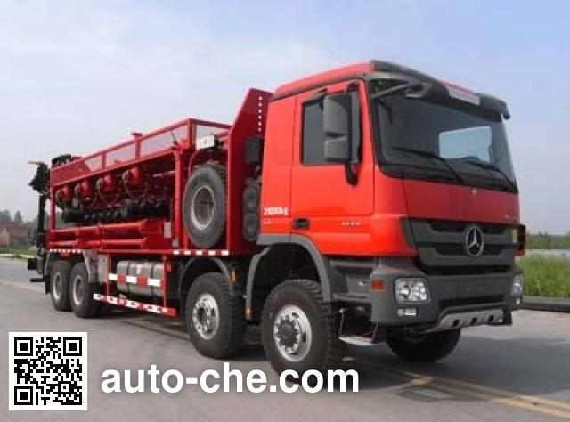 Sinopec SJ Petro SJX5314TYG fracturing manifold truck