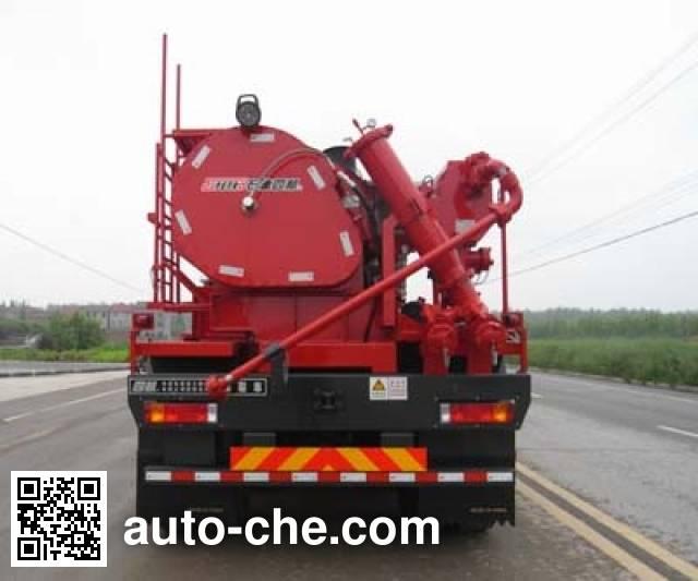 Sinopec SJ Petro SJX5318TYL105 fracturing truck