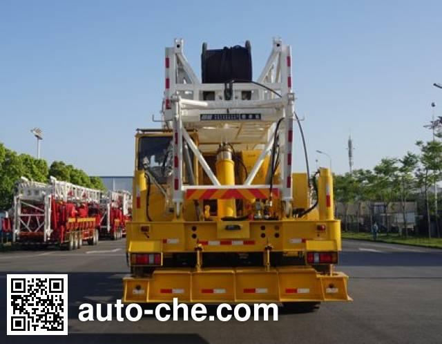Sinopec SJ Petro SJX5321TXJ350 well-workover rig truck